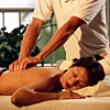 attendant and client at spa